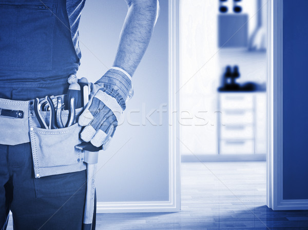 handyman ready for work Stock photo © tiero
