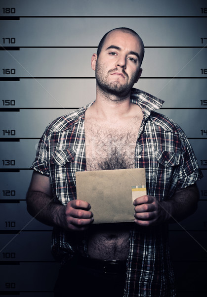 man arrested photo Stock photo © tiero