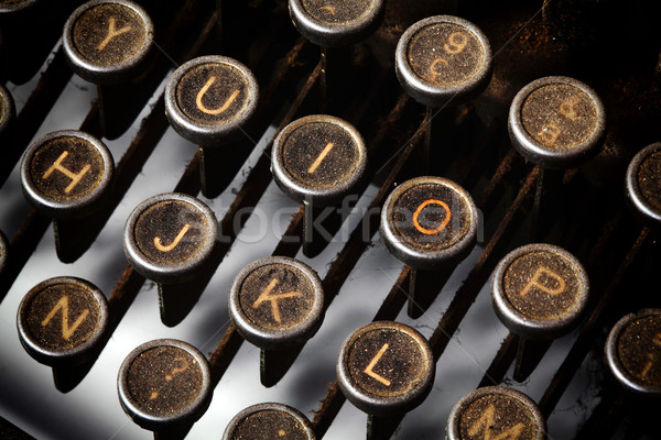 vintage typewriter Stock photo © tiero