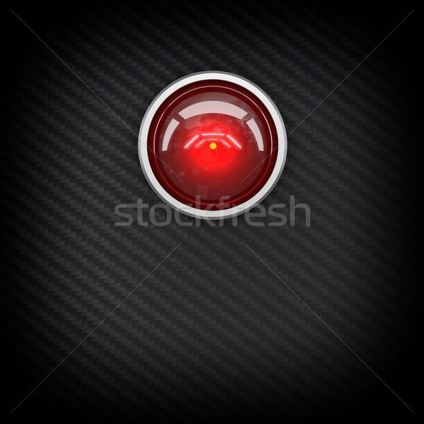 red eye hal Stock photo © tiero