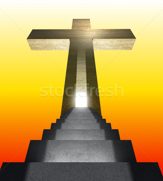stair to heaven Stock photo © tiero