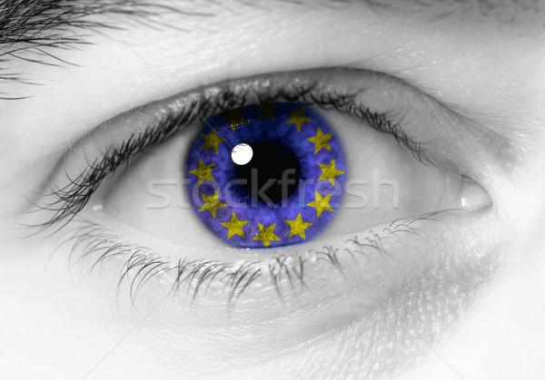 european eye Stock photo © tiero