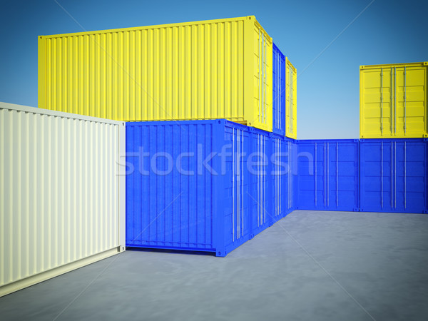 container Stock photo © tiero