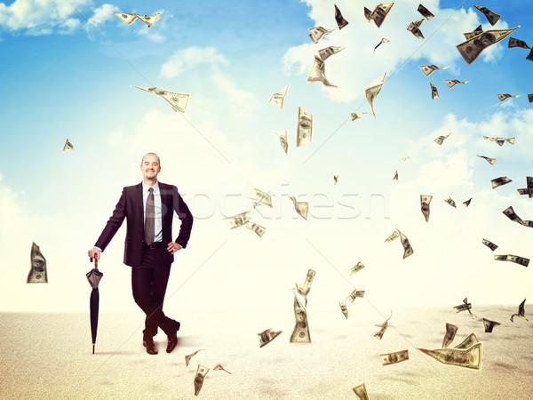 money rain on me Stock photo © tiero