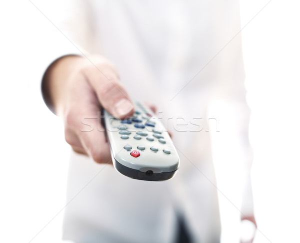 remote control tv background Stock photo © tiero
