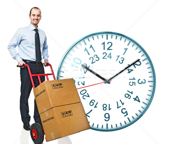 fast delivery Stock photo © tiero