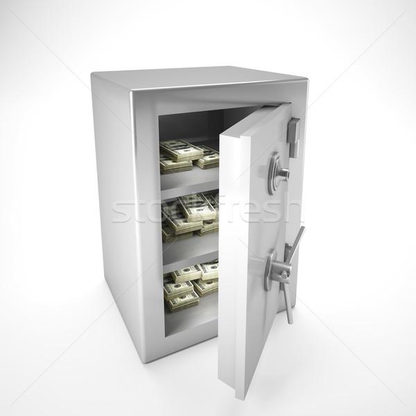 money in safe Stock photo © tiero