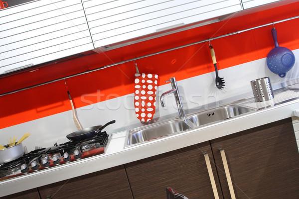 kitchen detail Stock photo © tiero