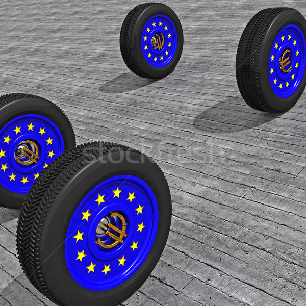 europe wheels Stock photo © tiero