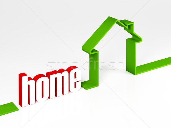 green home Stock photo © tiero