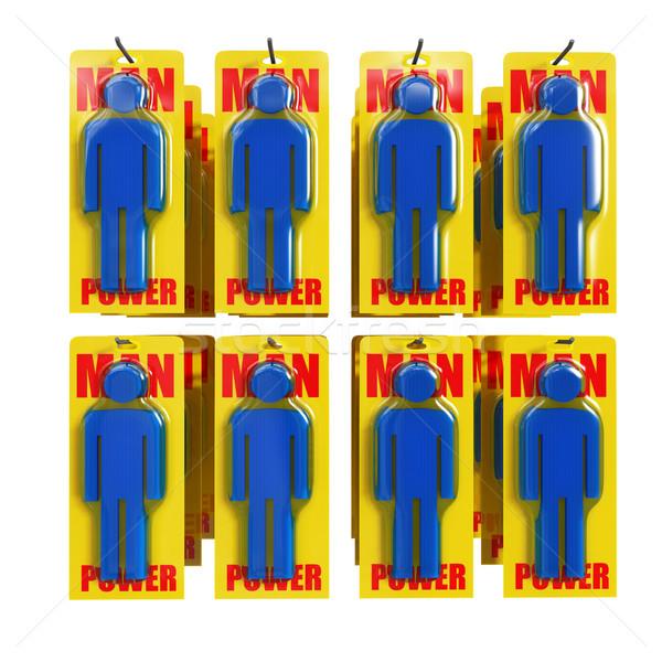 man power Stock photo © tiero