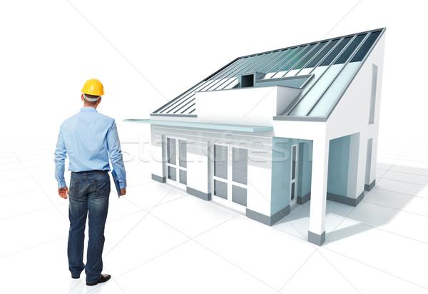 arcvhitect and house Stock photo © tiero