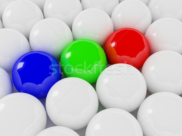 rgb balls Stock photo © tiero