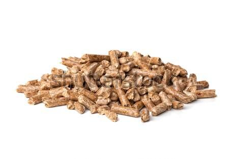 wood pellet Stock photo © tiero