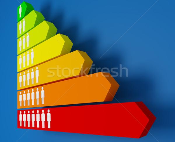 energy people saver Stock photo © tiero