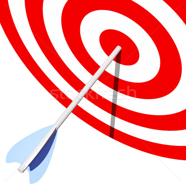 target and arrow Stock photo © tiero