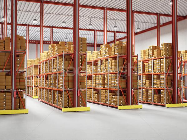 warehouse Stock photo © tiero