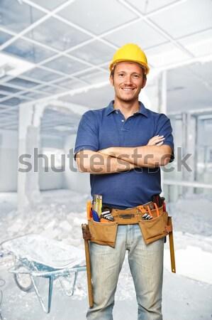 labor at work Stock photo © tiero