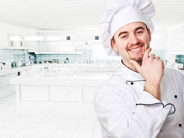 chef portrait Stock photo © tiero