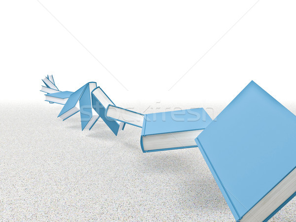 twist of books Stock photo © tiero