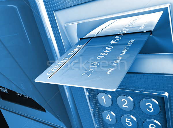 cash machine background Stock photo © tiero