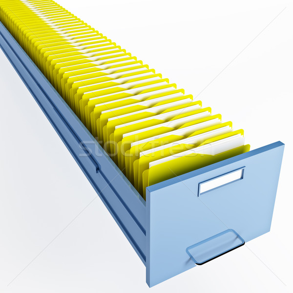 infinite file cabinet Stock photo © tiero