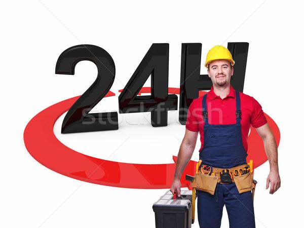 handyman 24 service Stock photo © tiero