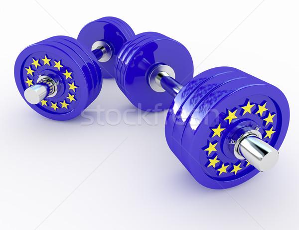 strength of europe Stock photo © tiero