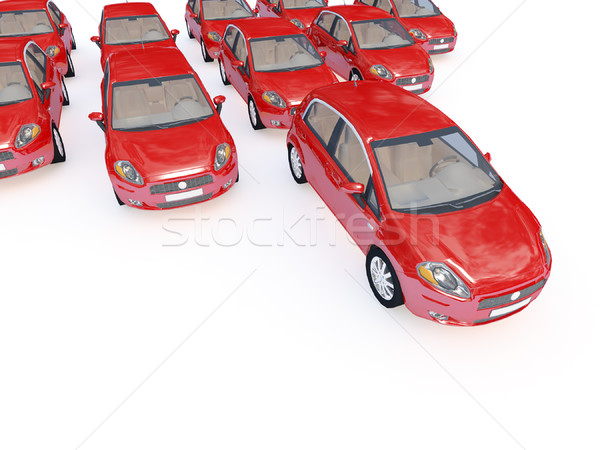 Stock photo: cars background