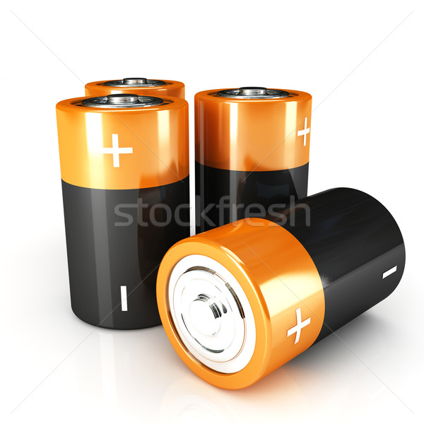 battery 3d Stock photo © tiero