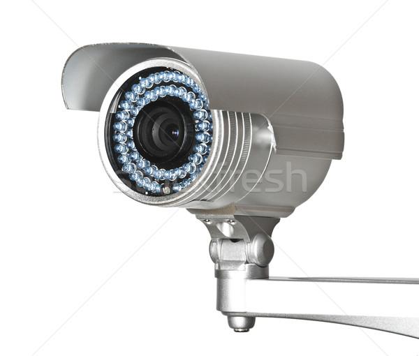 Cctv kamery obraz klasyczny aparatu bezpieczeństwa Zdjęcia stock © tiero