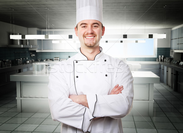 king of kitchen Stock photo © tiero