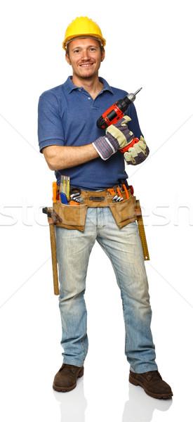 handyman in action Stock photo © tiero