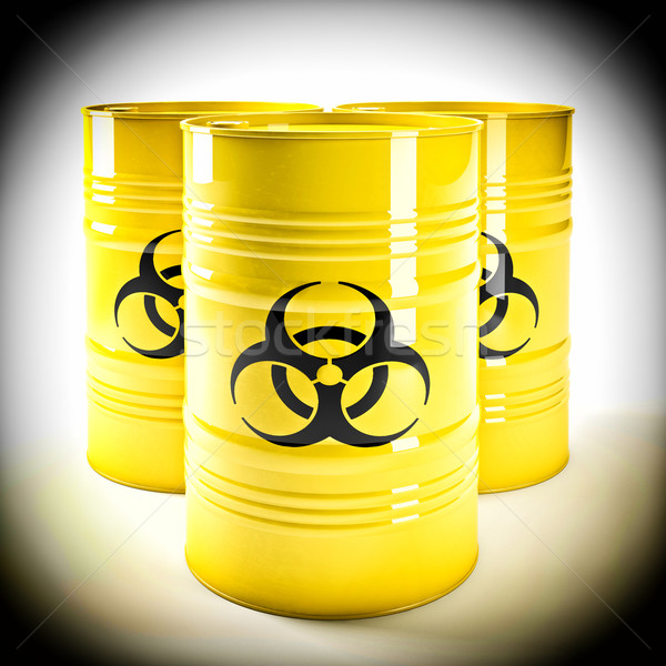 biohazard barell Stock photo © tiero