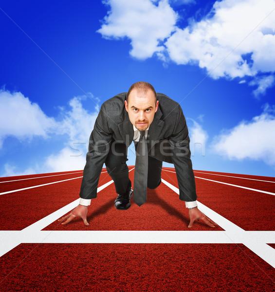 business challenge Stock photo © tiero