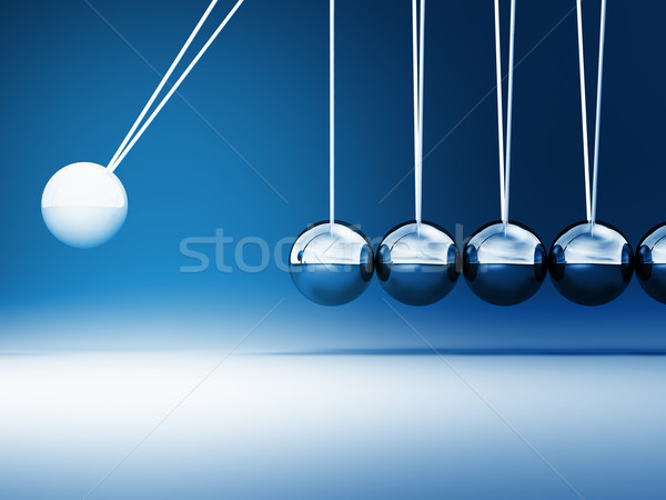 newton cradle Stock photo © tiero