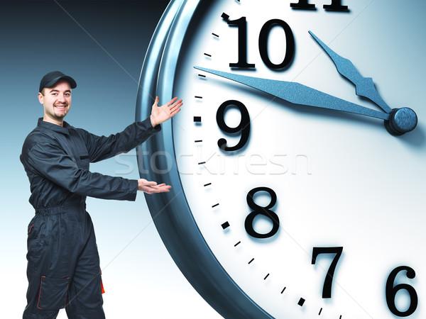 labor and time Stock photo © tiero