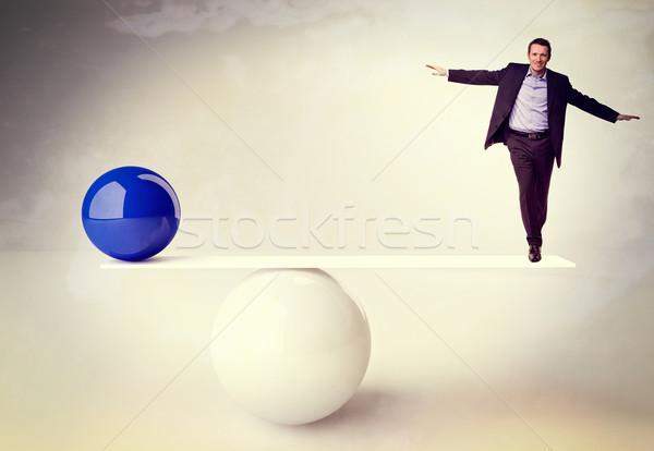Não saldo 3D imagem bola Foto stock © tiero