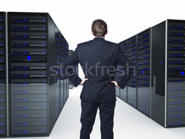 server Stock photo © tiero