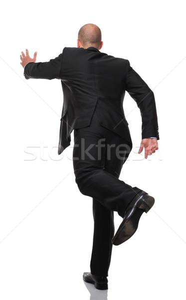 running man Stock photo © tiero