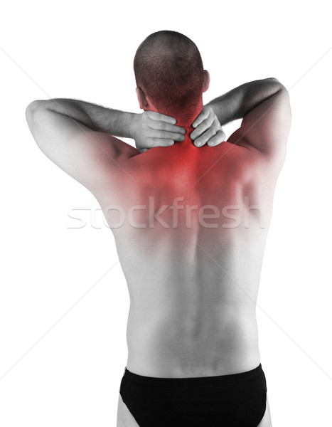 back pain Stock photo © tiero