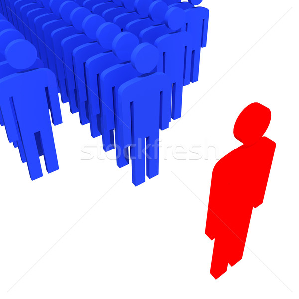 be a leader Stock photo © tiero