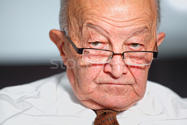 old man portrait Stock photo © tiero