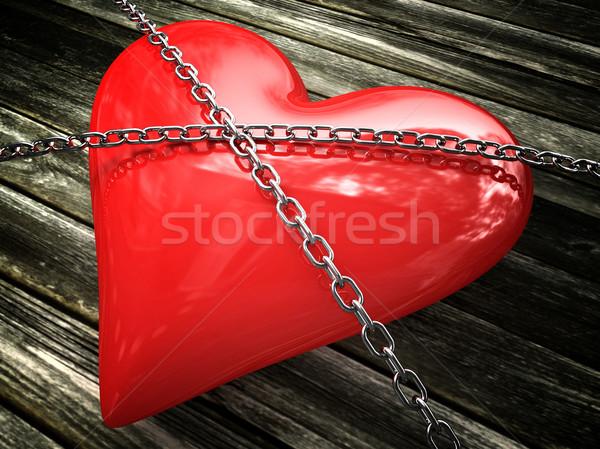 strong love Stock photo © tiero