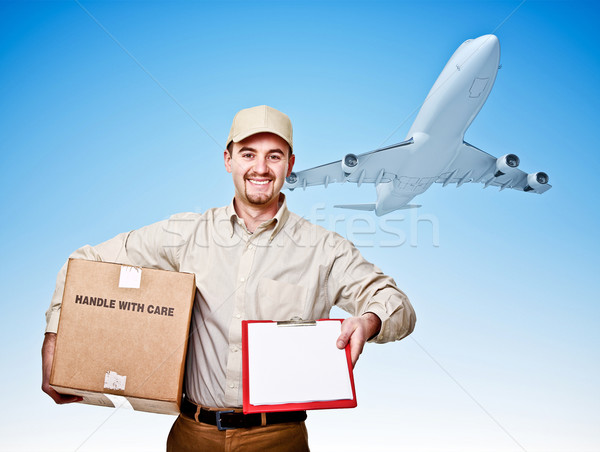 fast shipping Stock photo © tiero