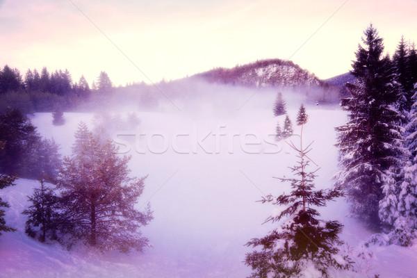 ストックフォト: 日 · 風景 · イタリア語 · アルプス山脈 · 空