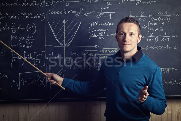 teacher at work Stock photo © tiero