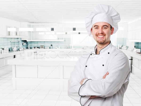 chef at work Stock photo © tiero