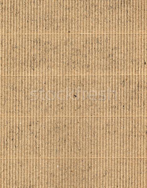 corrugated cardboard Stock photo © tiero
