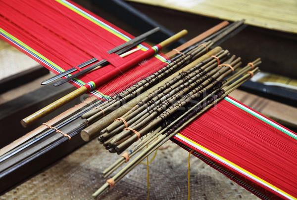 traditional malaysian loom Stock photo © tiero